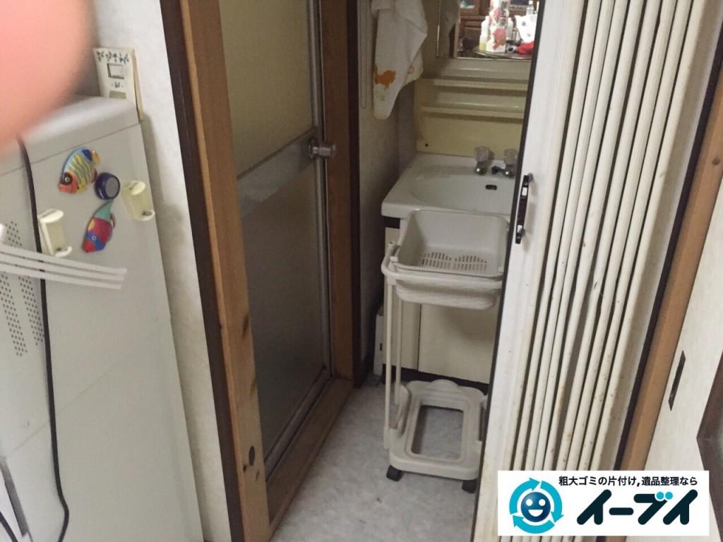9月16日 大阪府大阪市城東区でゴミ屋敷状態の汚部屋の片付けをしました。写真1