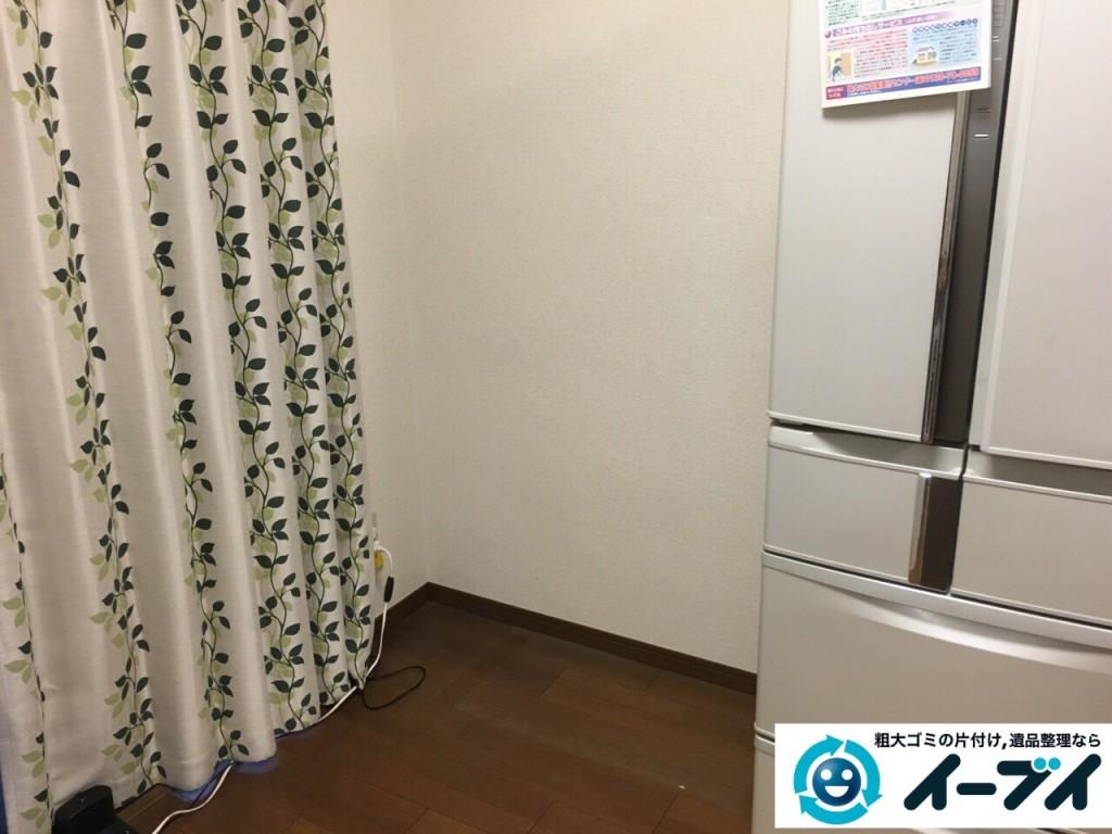 9月30日 大阪府東大阪市でタンスと食器棚の粗大ゴミの不用品回収をしました。写真5