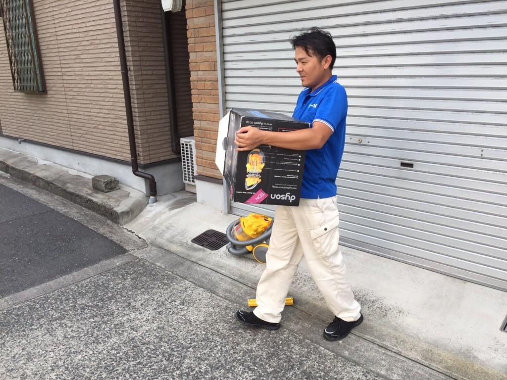 9月10日 大阪府守口市で掃除機や細々した粗大ゴミの不用品回収をしました。写真3