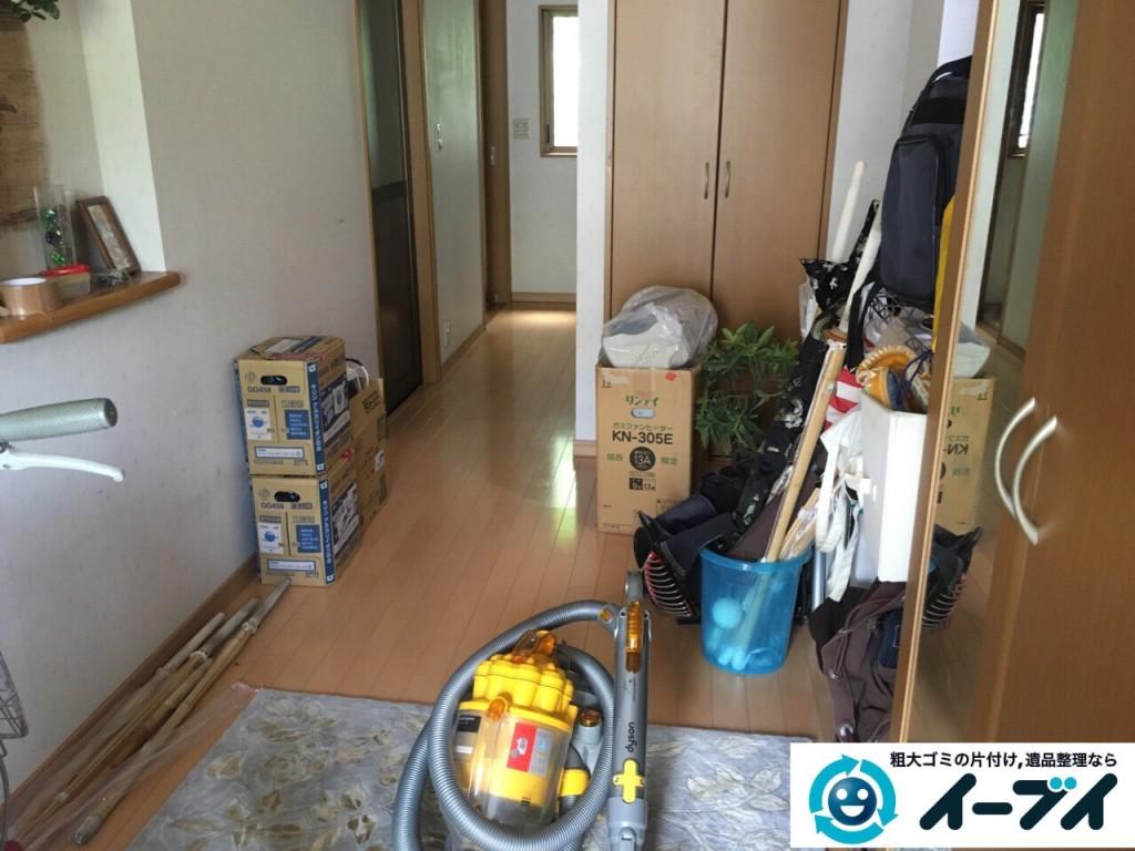 9月10日 大阪府守口市で掃除機や細々した粗大ゴミの不用品回収をしました。写真2
