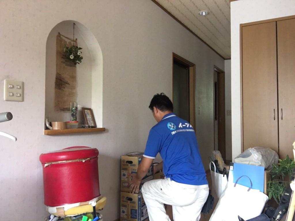 9月10日 大阪府守口市で掃除機や細々した粗大ゴミの不用品回収をしました。写真1