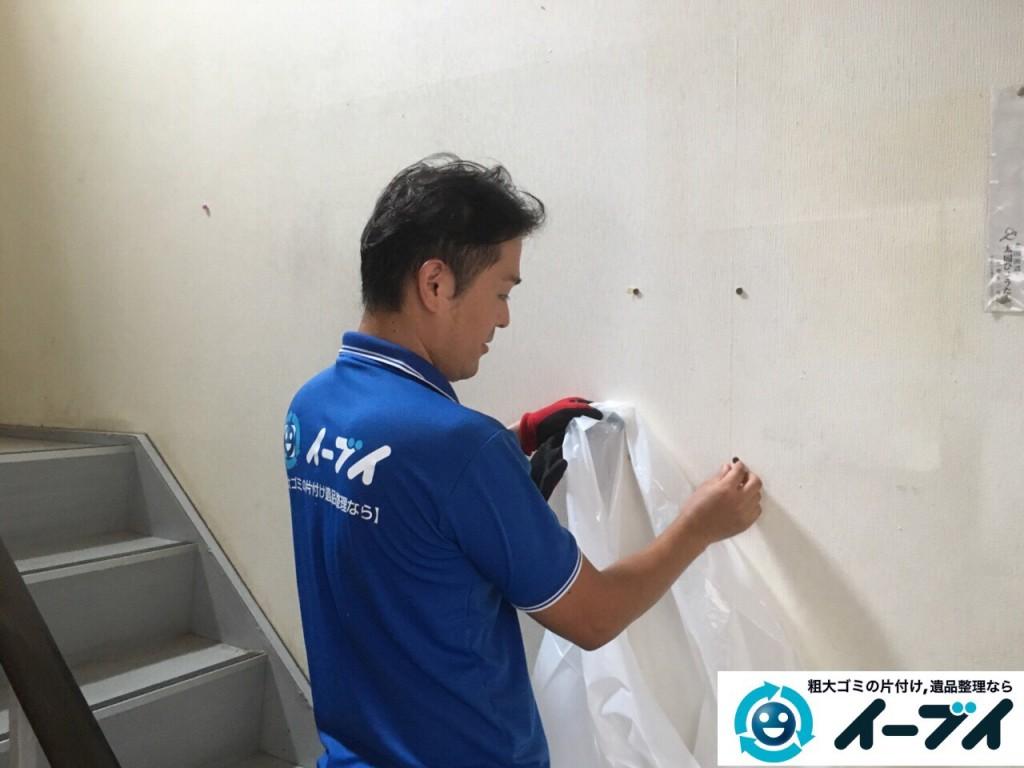 9月22日 大阪府大阪市東住吉区で実家の片付けに伴う粗大ゴミの不用品回収をしました。写真3