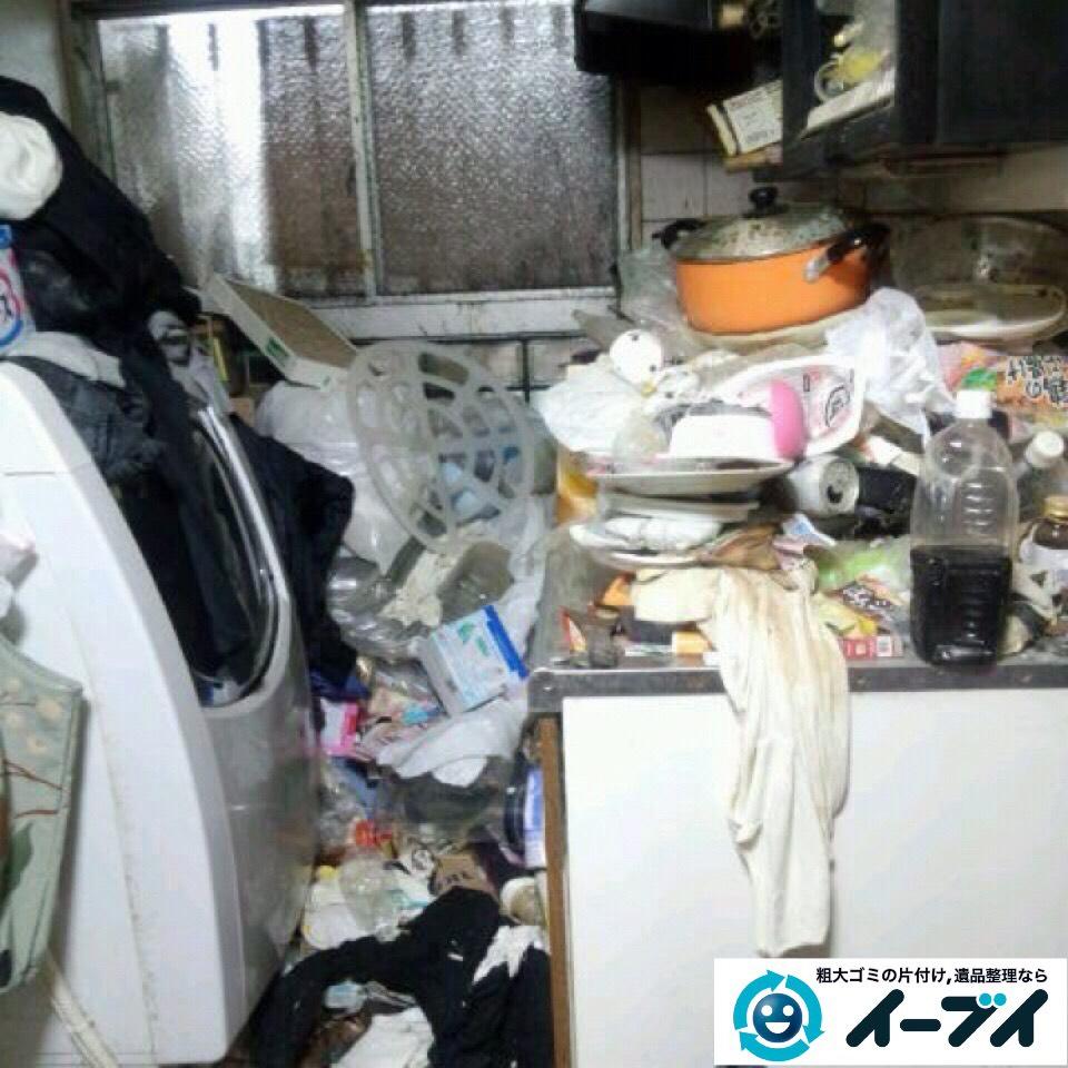 9月14日 大阪府大阪市港区で汚部屋状態のゴミ屋敷の片付けをしました。写真6