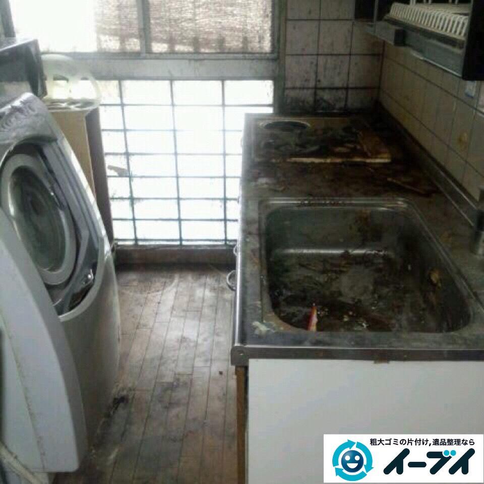 9月14日 大阪府大阪市港区で汚部屋状態のゴミ屋敷の片付けをしました。写真5