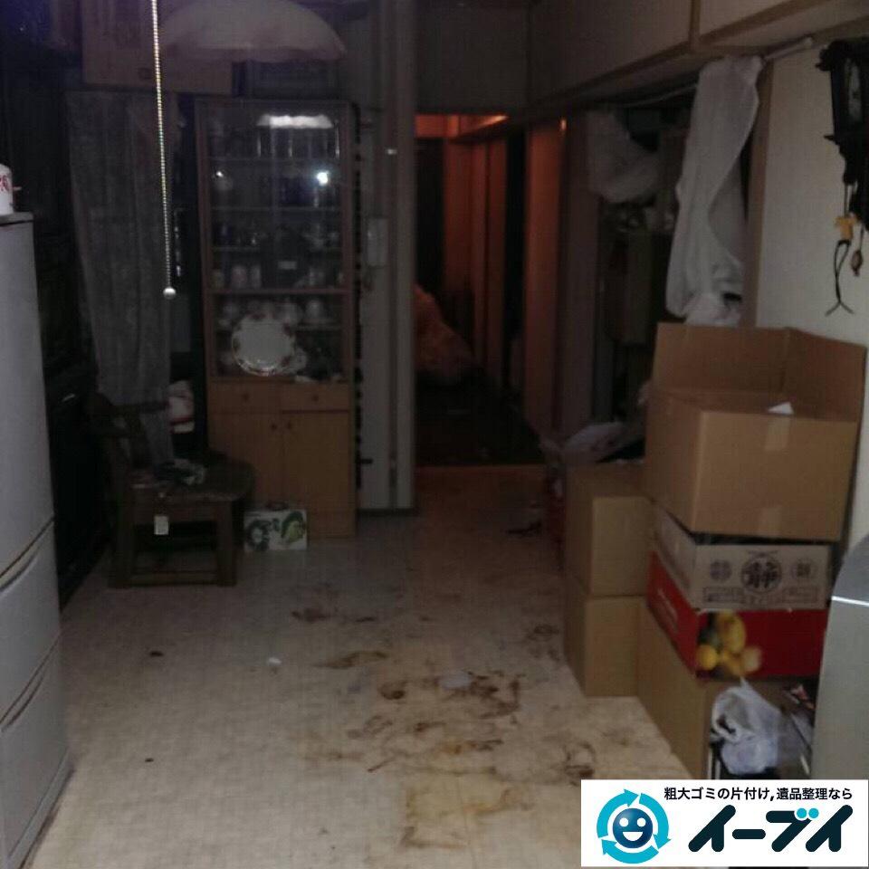 9月14日 大阪府大阪市港区で汚部屋状態のゴミ屋敷の片付けをしました。写真2