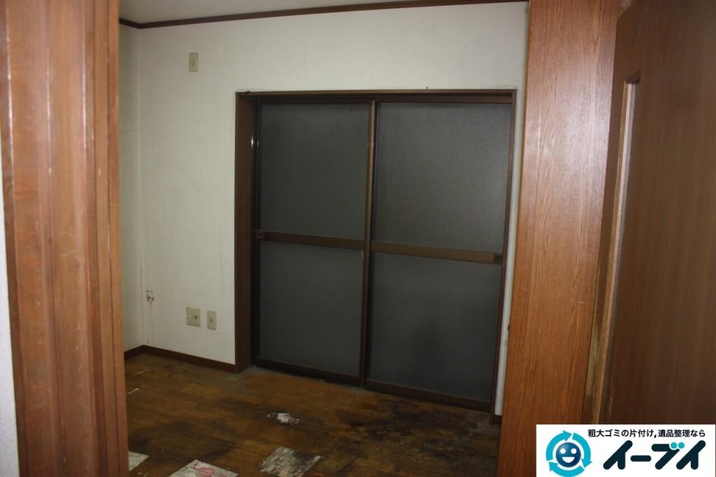 9月13日 大阪市阿倍野区で天井までゴミが積もった汚部屋のゴミ屋敷を片付けました。写真5