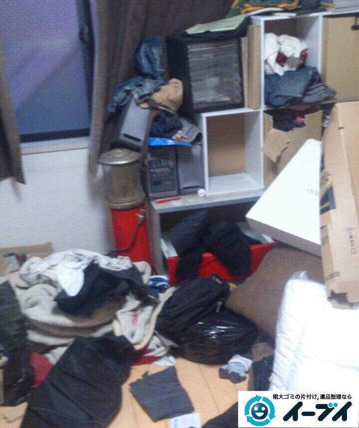 9月20日 大阪府大阪市天王寺区で引越しゴミや家具などの粗大ゴミの不用品回収をしました。写真4