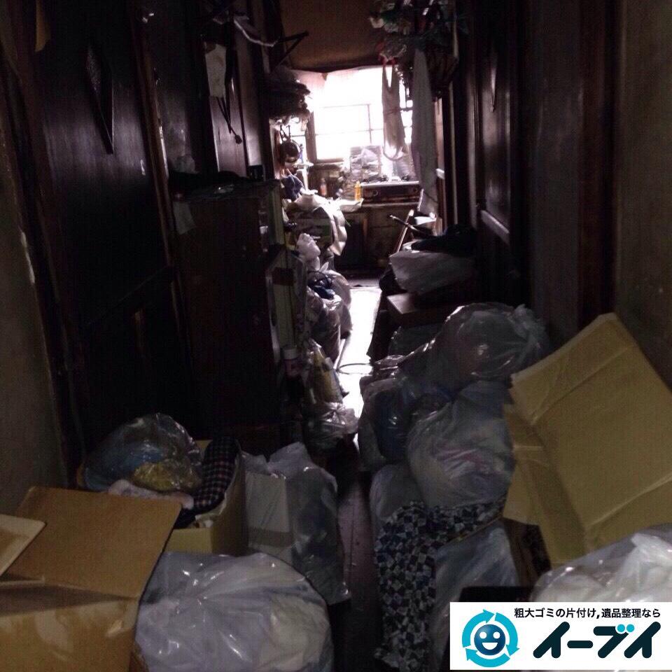 9月26日 大阪府河内長野市で一軒家の片付けに伴う家具や粗大ゴミの不用品回収をしました。写真4