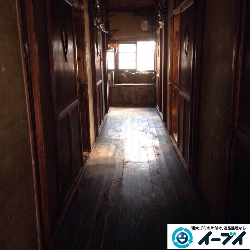 9月26日 大阪府河内長野市で一軒家の片付けに伴う家具や粗大ゴミの不用品回収をしました。写真3