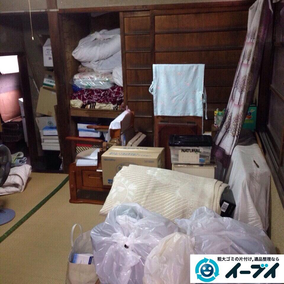 9月26日 大阪府河内長野市で一軒家の片付けに伴う家具や粗大ゴミの不用品回収をしました。写真2