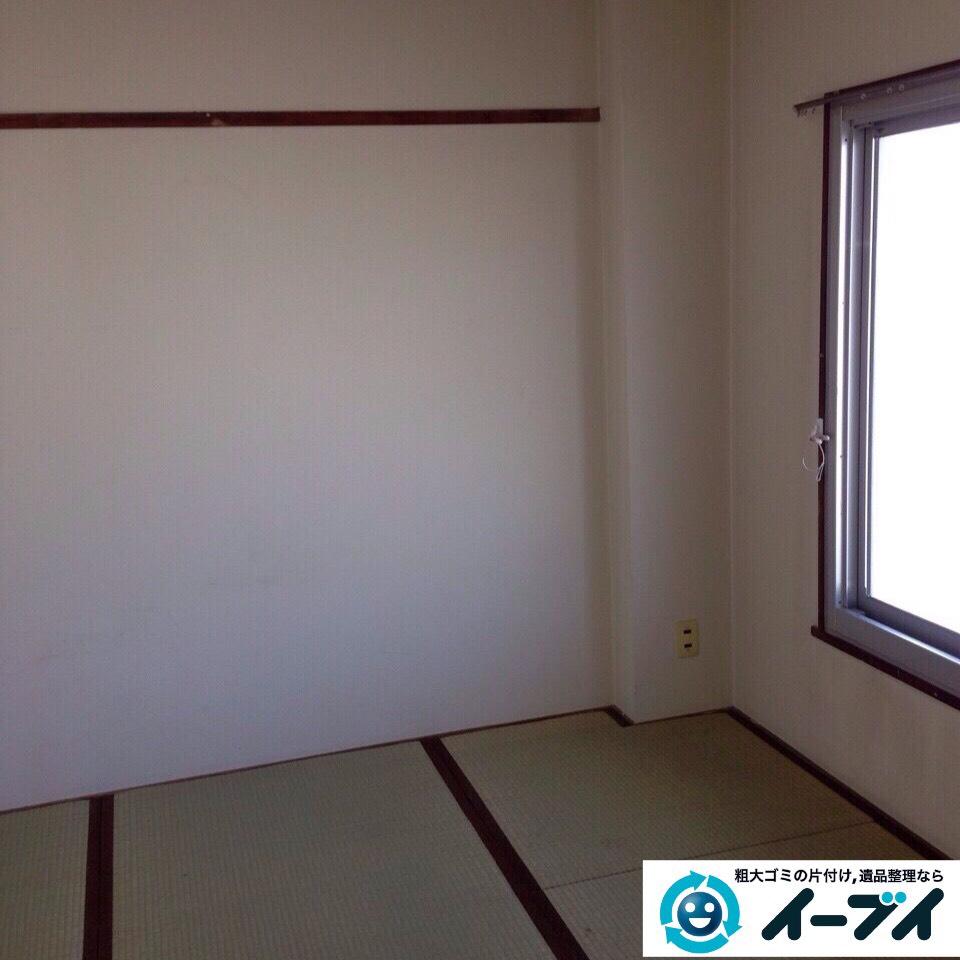 9月13日 大阪府泉大津市で汚部屋(ゴミ屋敷)のゴミが散乱していたので片付けてきました。写真1