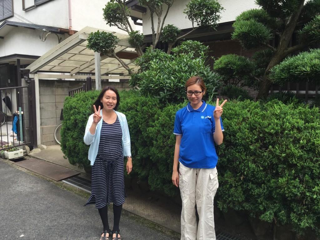 9月5日 大阪府豊中市で食器棚やタンス等の粗大ゴミの不用品回収をしました。