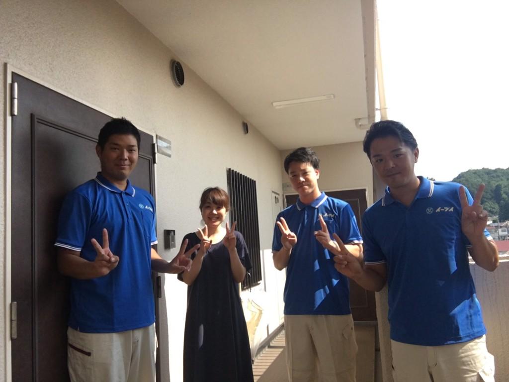 9月17日 大阪府大阪市東住吉区でベッドや洗濯機の処分でイーブイにご依頼していただきました。写真1