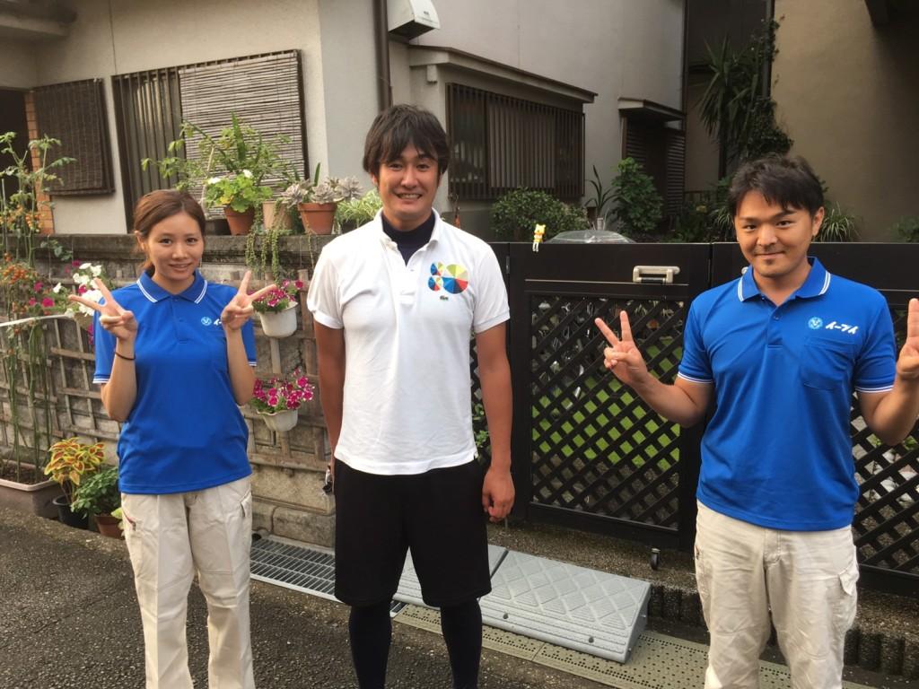 9月29日 大阪府八尾市でガレージや倉庫の廃品や粗大ゴミの不用品回収をしました。写真1