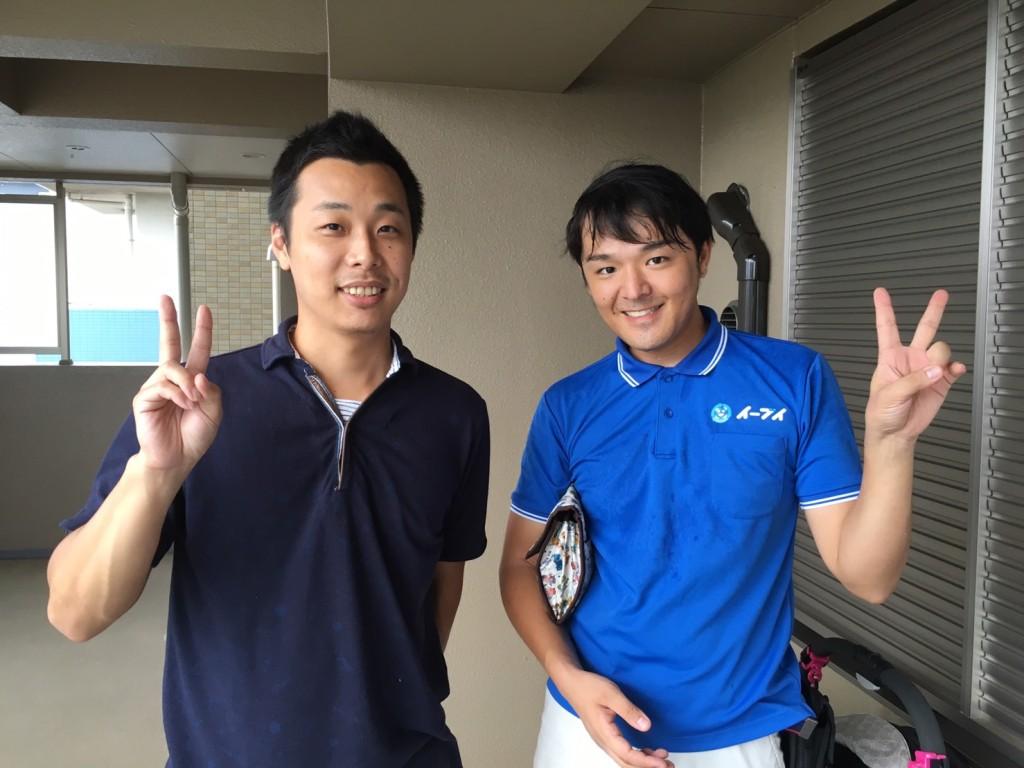 9月13日 大阪市東住吉区でクイーンベットとマットレスの粗大ゴミの不用品回収をご利用していただきました。写真1