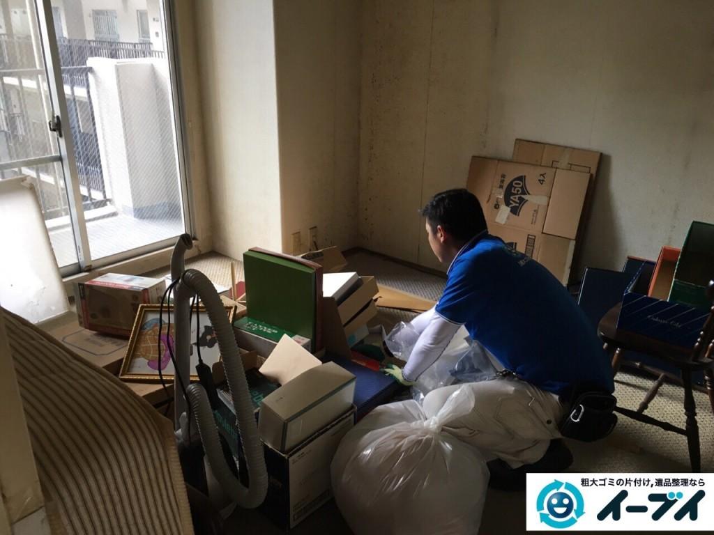 10月21日 大阪府貝塚市で部屋の片付けに伴う粗大ゴミの不用品回収をしました。写真4