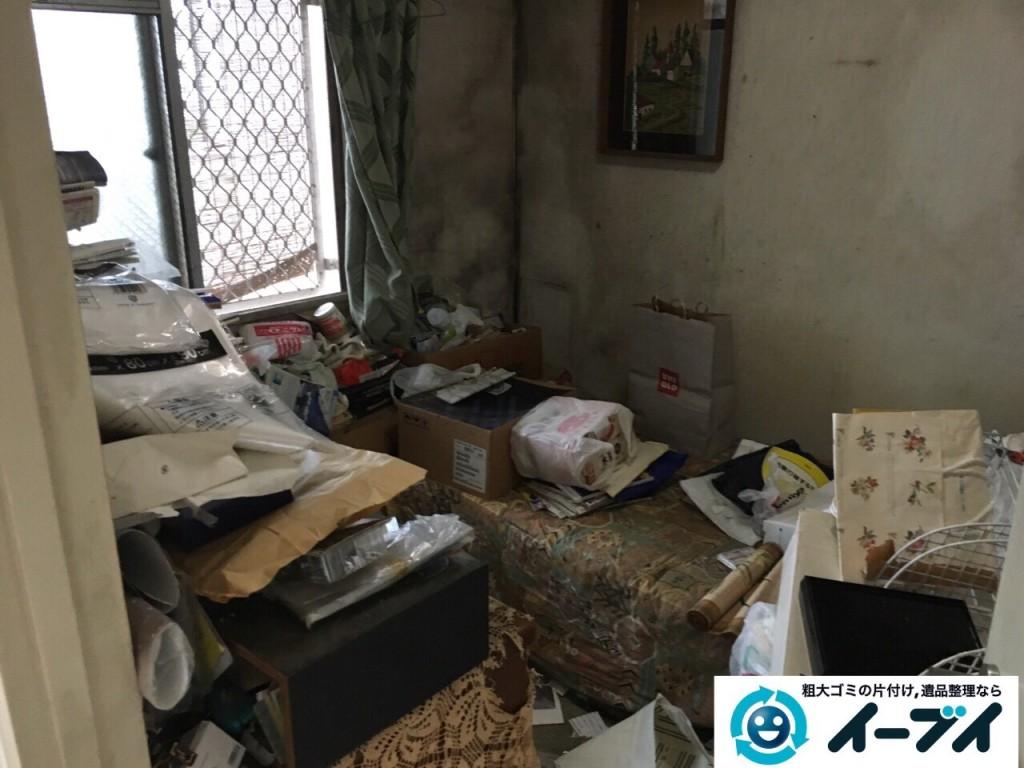 10月18日 大阪府大阪市西淀川区で汚部屋のゴミ屋敷の片付けをしました。写真6