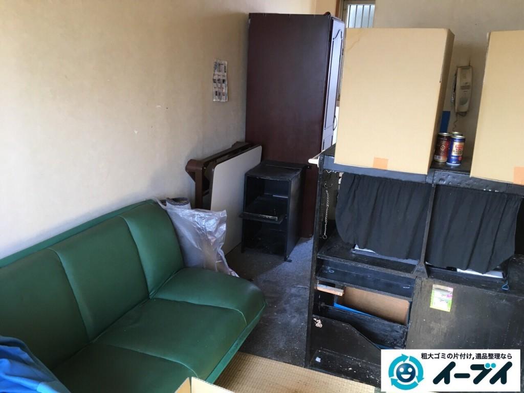 10月23日 大阪府八尾市で引越しに伴うソファーや大型家具等の粗大ゴミの不用品回収をしました。写真5