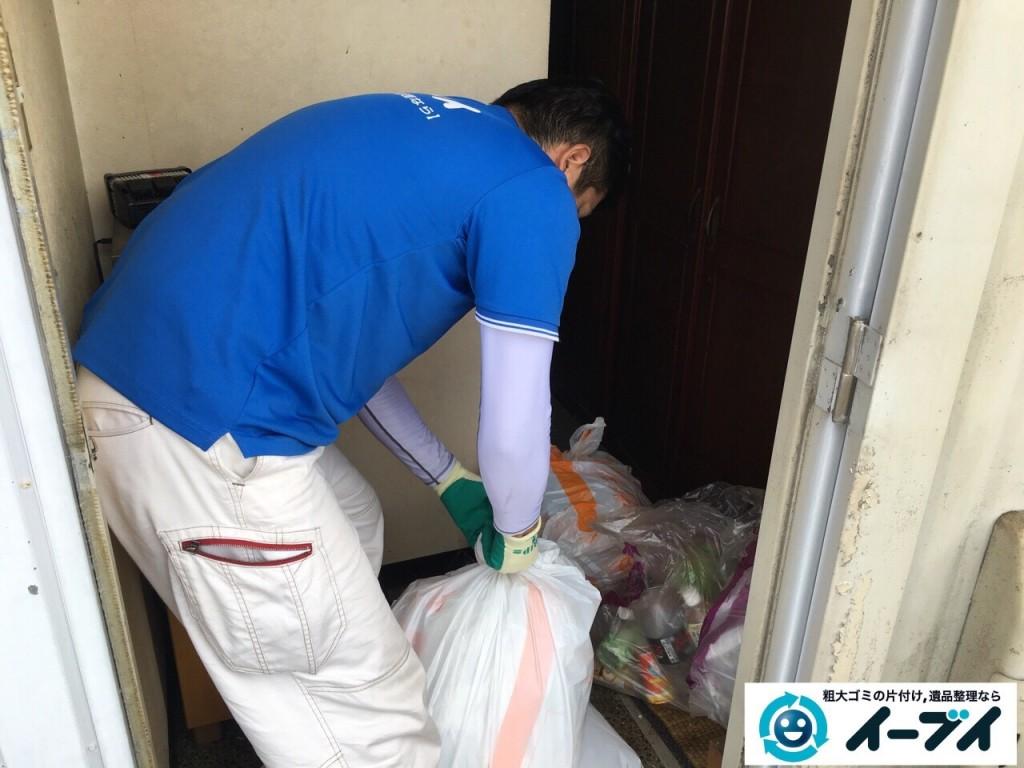 10月23日 大阪府八尾市で引越しに伴うソファーや大型家具等の粗大ゴミの不用品回収をしました。写真8