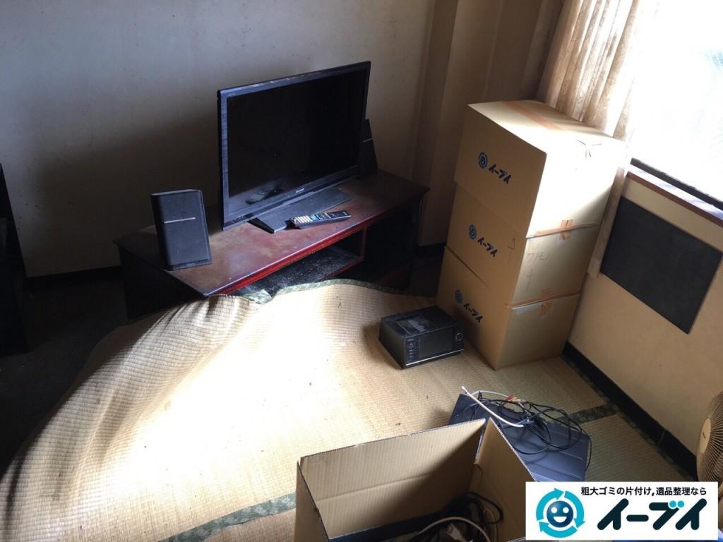 10月23日 大阪府八尾市で引越しに伴うソファーや大型家具等の粗大ゴミの不用品回収をしました。写真4