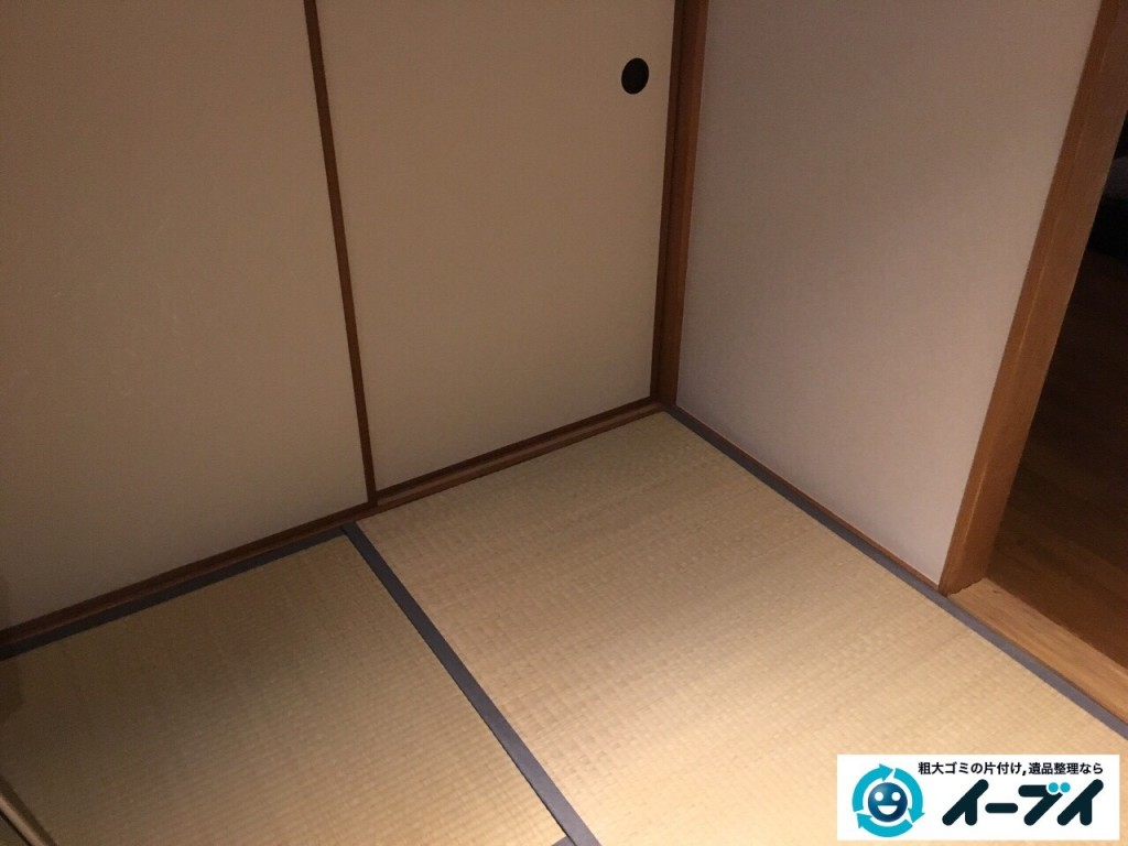 10月29日 大阪府大阪市住之江区でソファーと布団の粗大ゴミの不用品回収をしました。3