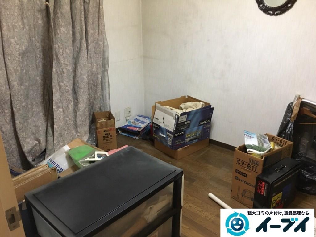 10月20日 大阪府八尾市で汚部屋のゴミ屋敷の片付けをしました。写真6