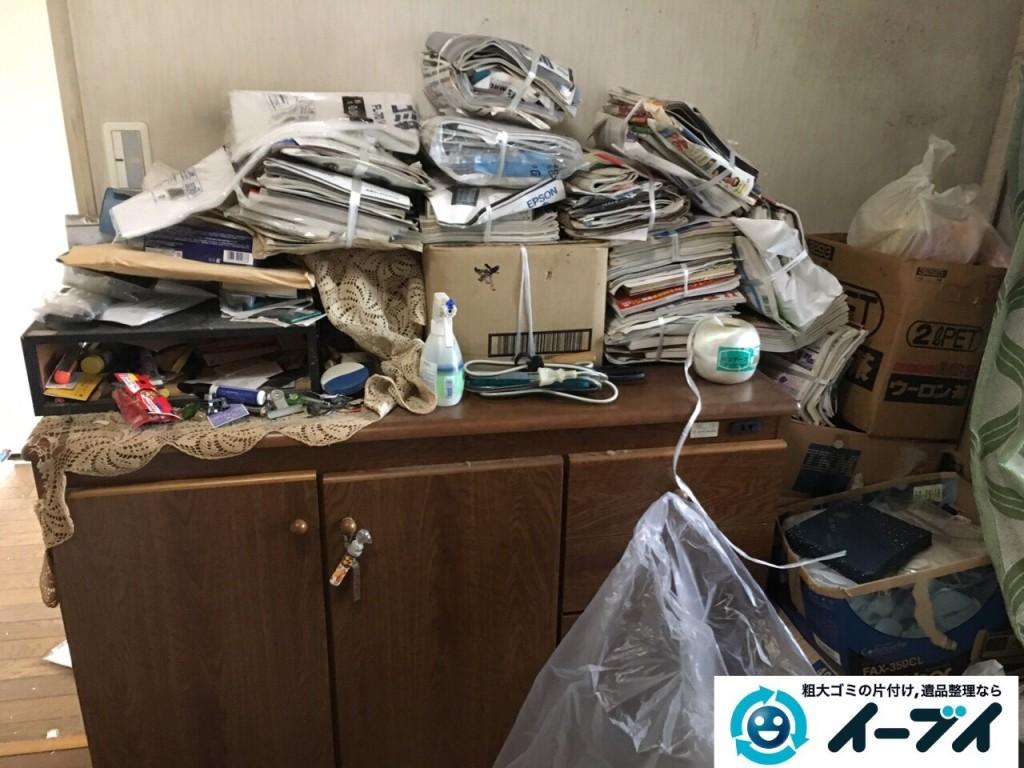 10月18日 大阪府大阪市西淀川区で汚部屋のゴミ屋敷の片付けをしました。写真5