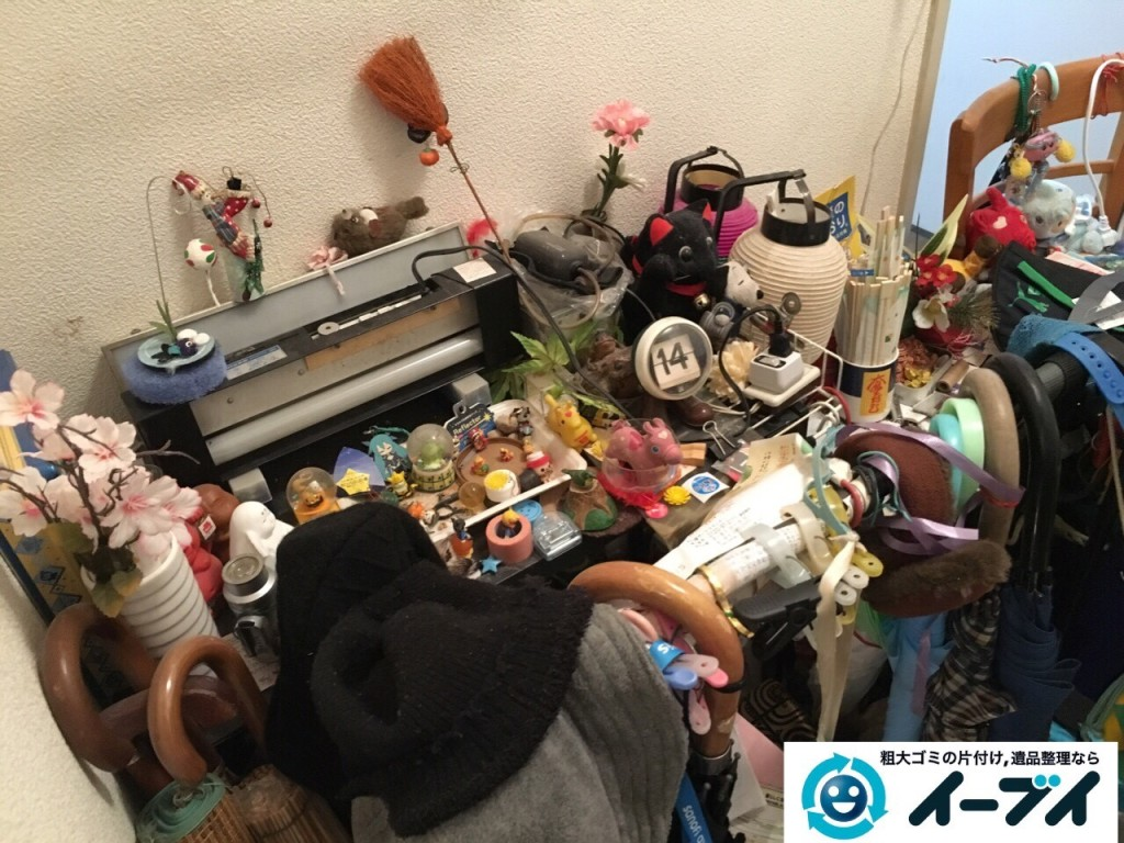 10月20日 大阪府堺市中区で汚部屋状態のゴミ屋敷の片付けをしました。写真4