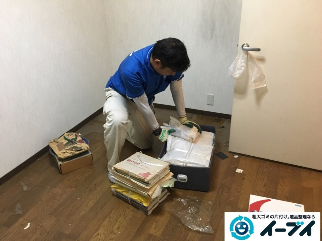 10月20日 大阪府八尾市で汚部屋のゴミ屋敷の片付けをしました。写真5