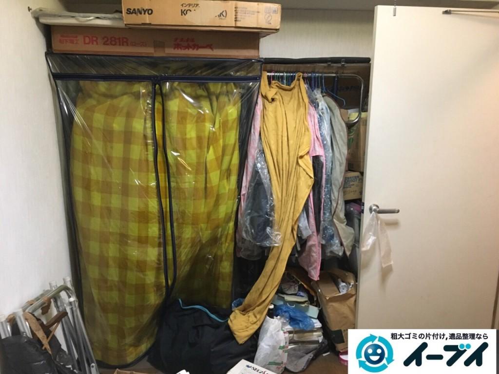 10月20日 大阪府八尾市で汚部屋のゴミ屋敷の片付けをしました。写真3