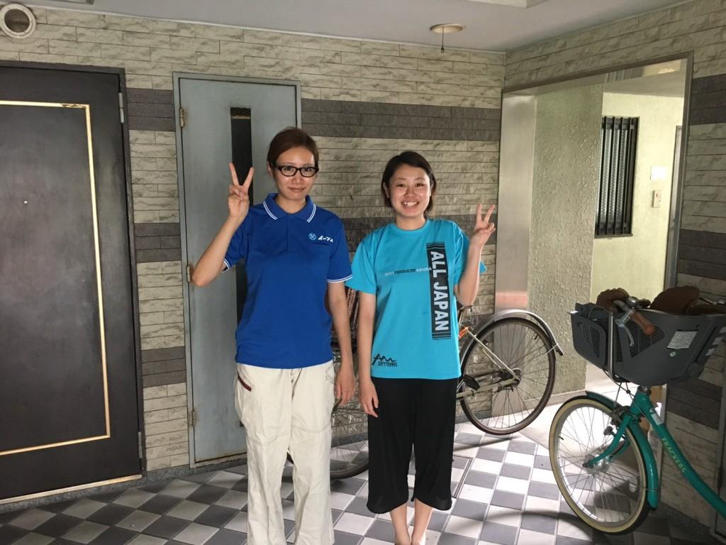 10月23日 大阪府箕面市で勉強机やベッドの粗大ゴミの不用品回収をしました。写真1
