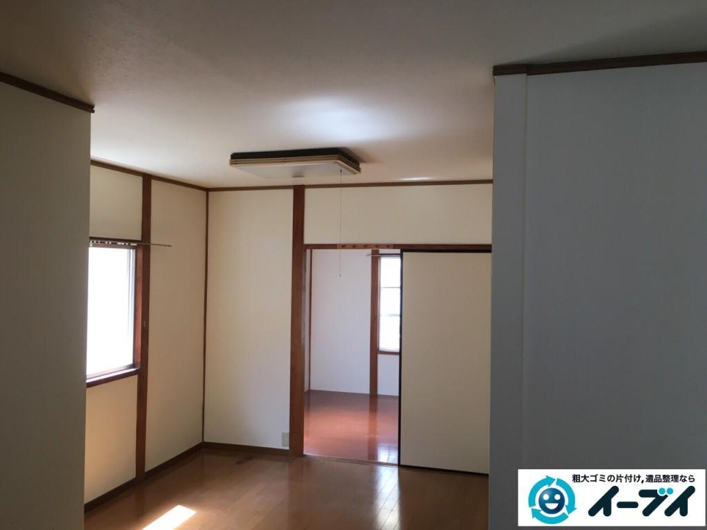 10月16日 大阪府箕面市で遺品整理での家具処分や粗大ゴミの処分をしました。写真4