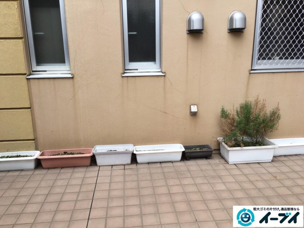 10月9日 大阪府大阪市平野区で介護施設のベットの粗大ゴミや廃品の不用品回収をしました。写真5