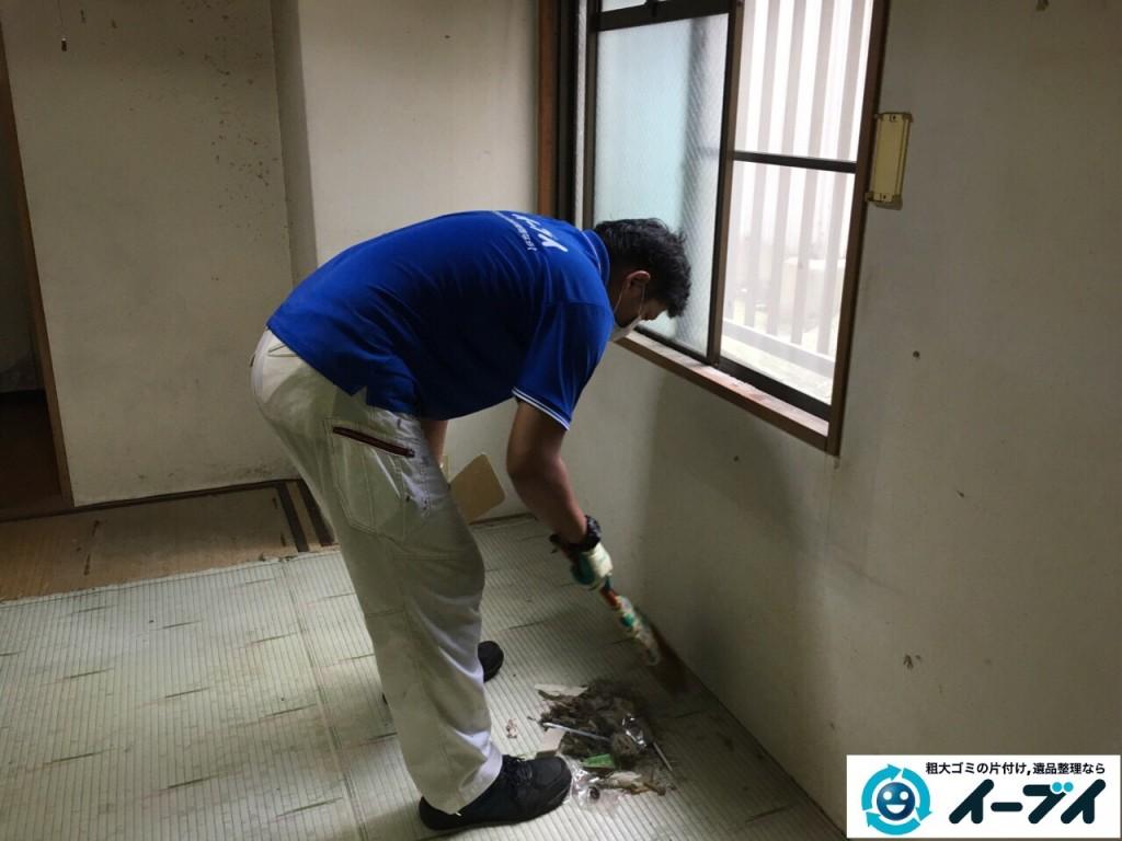 10月18日 大阪府門真市で汚部屋のゴミ屋敷の片付けをしました。写真10