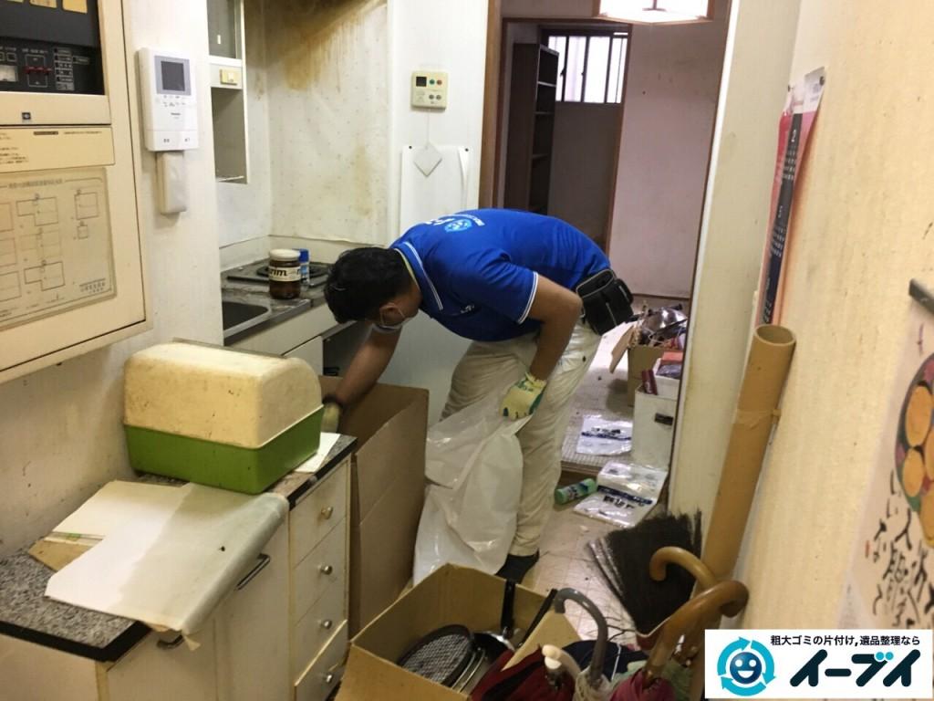 10月18日 大阪府門真市で汚部屋のゴミ屋敷の片付けをしました。写真9