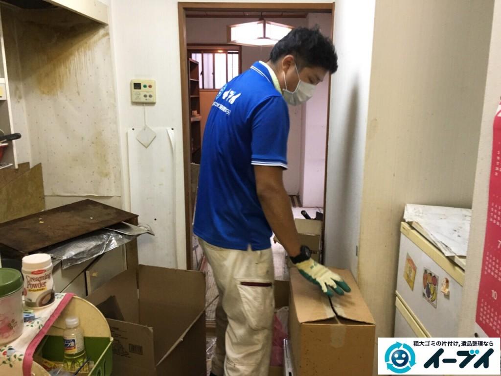 10月18日 大阪府門真市で汚部屋のゴミ屋敷の片付けをしました。写真8