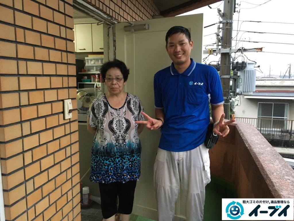 10月19日 大阪府八尾市で布団やソファーの不用品回収でイーブイをご利用下さいました。写真1