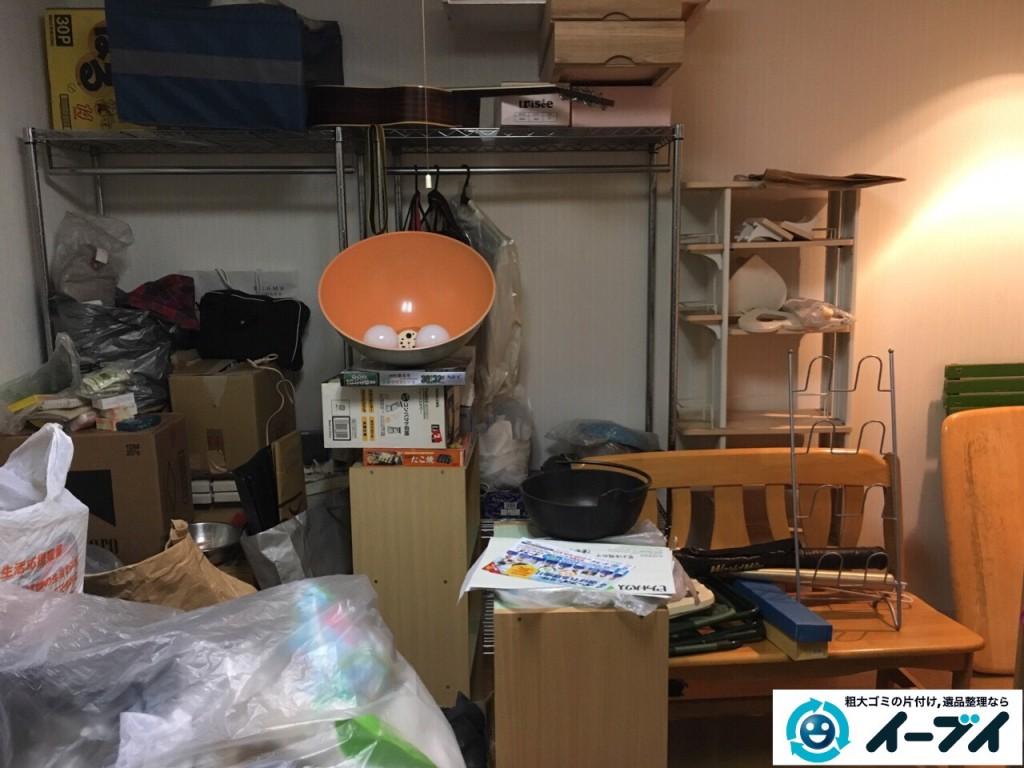 10月8日 大阪府大阪市大正区で引越しに伴う粗大ゴミの不用品回収をしました。写真5
