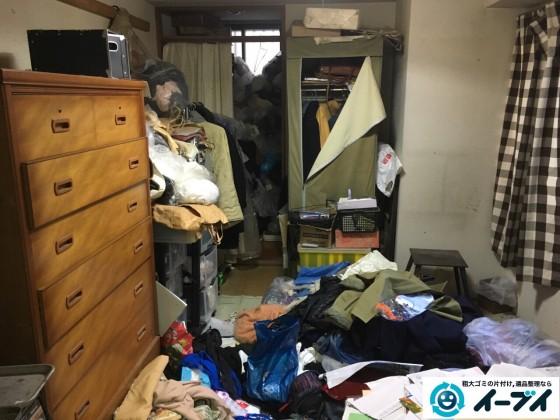 10月18日 大阪府門真市で汚部屋のゴミ屋敷の片付けをしました。写真7
