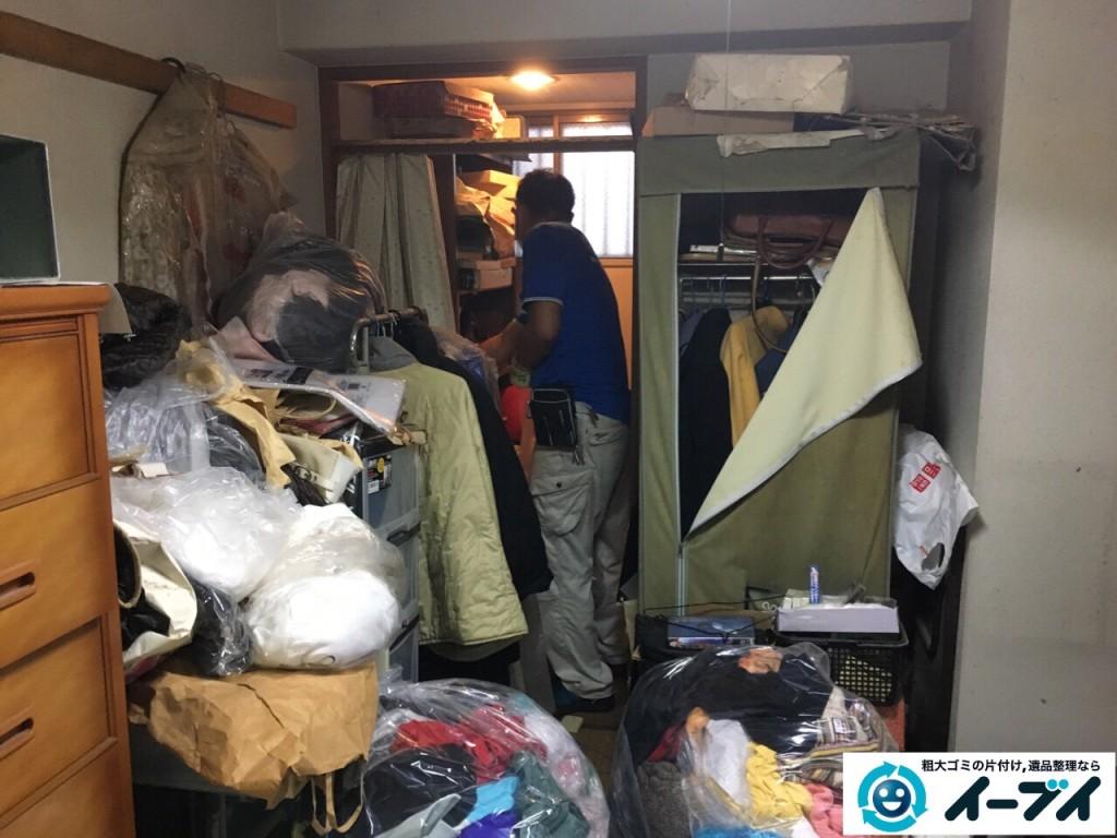 10月18日 大阪府門真市で汚部屋のゴミ屋敷の片付けをしました。写真3