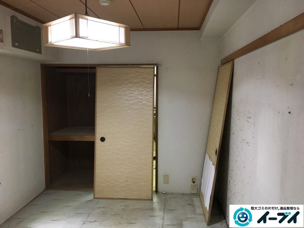 10月18日 大阪府門真市で汚部屋のゴミ屋敷の片付けをしました。写真1