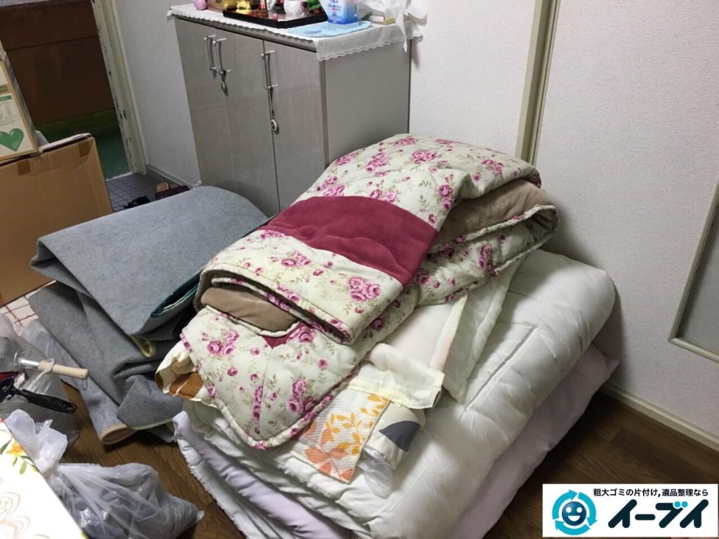 10月17日 大阪府和泉市でソファーや布団などの粗大ゴミや廃品の不用品回収をしました。写真2