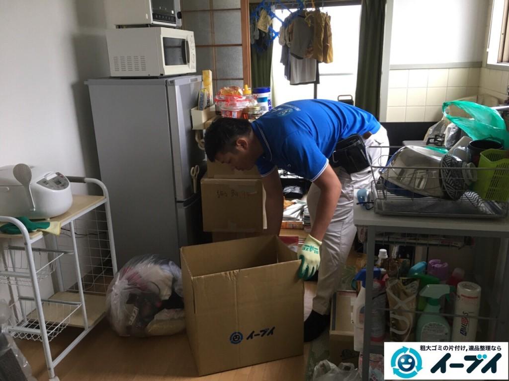 10月14日 大阪府泉佐野市で引越しに伴う家具処分や粗大ゴミの不用品回収をしました。写真6