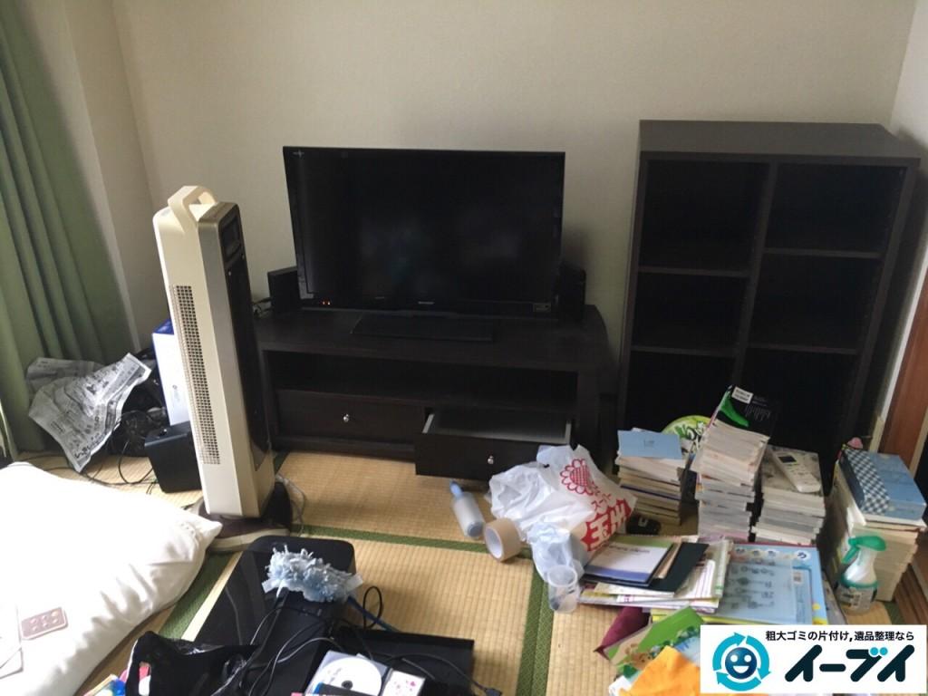10月14日 大阪府泉佐野市で引越しに伴う家具処分や粗大ゴミの不用品回収をしました。写真4