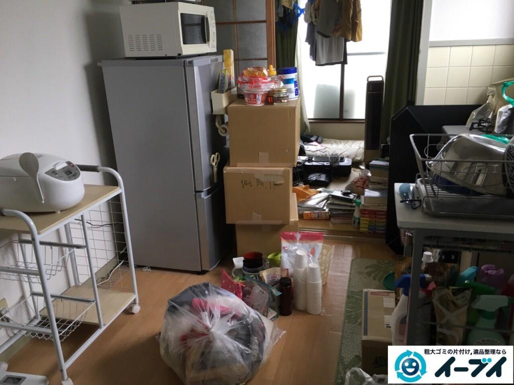 10月14日 大阪府泉佐野市で引越しに伴う家具処分や粗大ゴミの不用品回収をしました。写真3