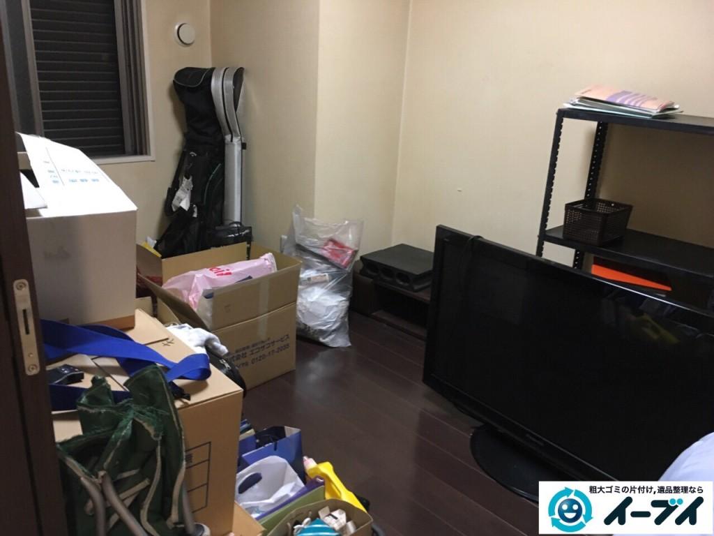 10月9日 大阪府大阪市福島区で引越しに伴う不用品の買取りと粗大ゴミの処分をしました。写真4