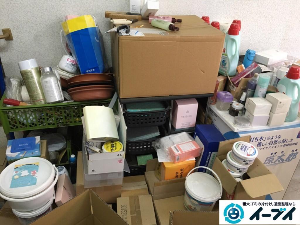 10月12日 大阪府大阪市此花区でガレージの廃品や粗大ゴミの不用品回収をしました。写真4