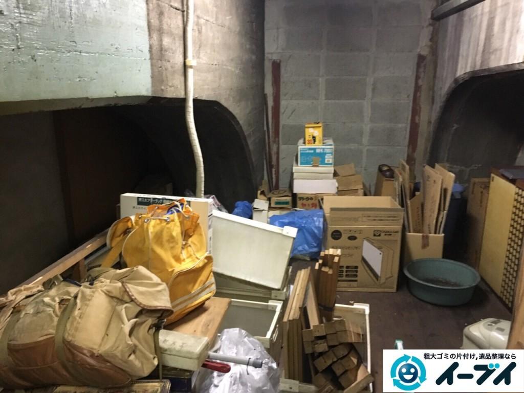 10月12日 大阪府大阪市住吉区で店舗の屋根裏の棚や粗大ゴミの不用品回収をしました。写真5