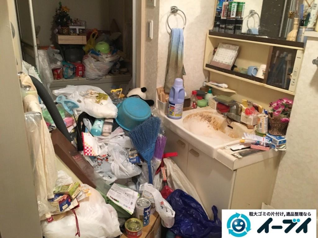 10月20日 大阪府堺市中区で汚部屋状態のゴミ屋敷の片付けをしました。写真3