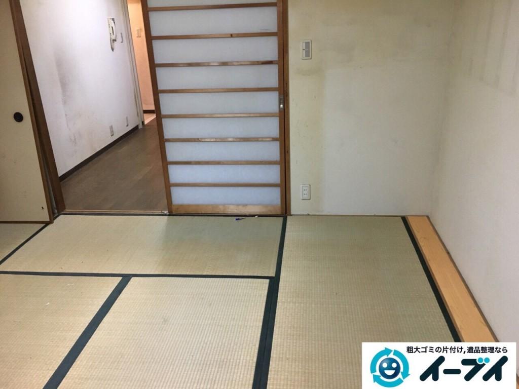 10月22日 大阪府貝塚市でゴミ屋敷の家具や粗大ゴミの片付けをしました。写真5
